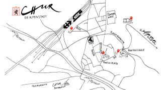 Interaktive Karte Chur