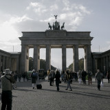 Brandenburger Tor: originales Bild