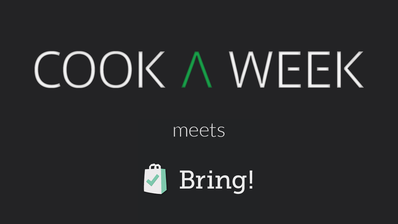 cook a week meets bring