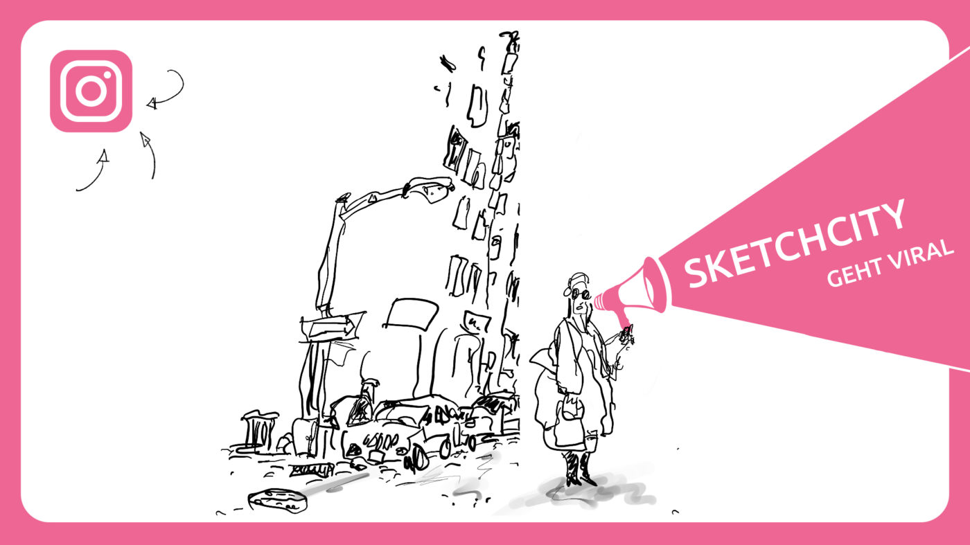 Sketchcity geht viral.