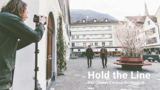 Filmen vom Interview mit dem Churer Stadtpräsident Urs Marti