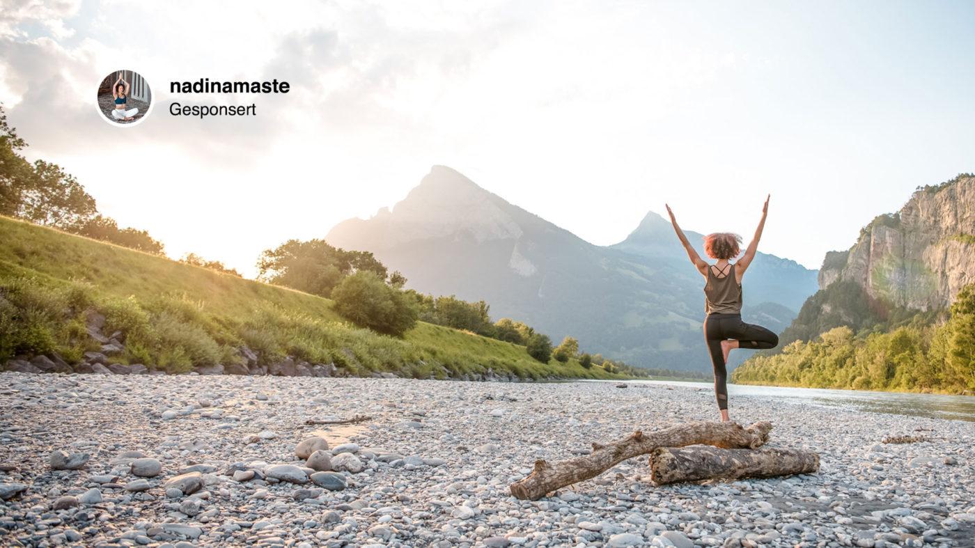 Bachelorarbeit über die Effizienz von Native Advertising und ein Yoga Lehrprojekt.